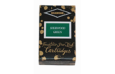 Картриджи Diamine Sherwood Green (18 шт.)