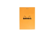 Rhodia №12 Pad Orange (8.5х12 см, в клетку)