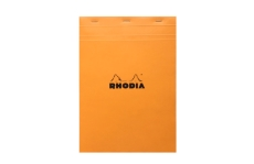 Rhodia №18 Pad Orange (21х29.7 см, в линию)