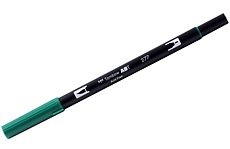 Tombow ABT Dual brush 277 Dark Green